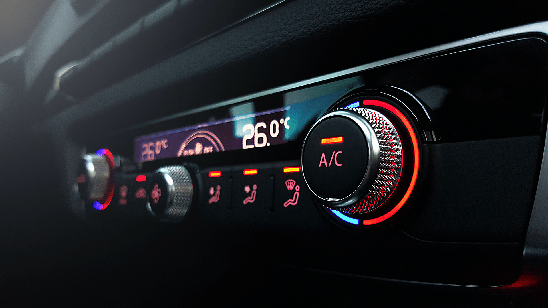 Air Conditioning Console