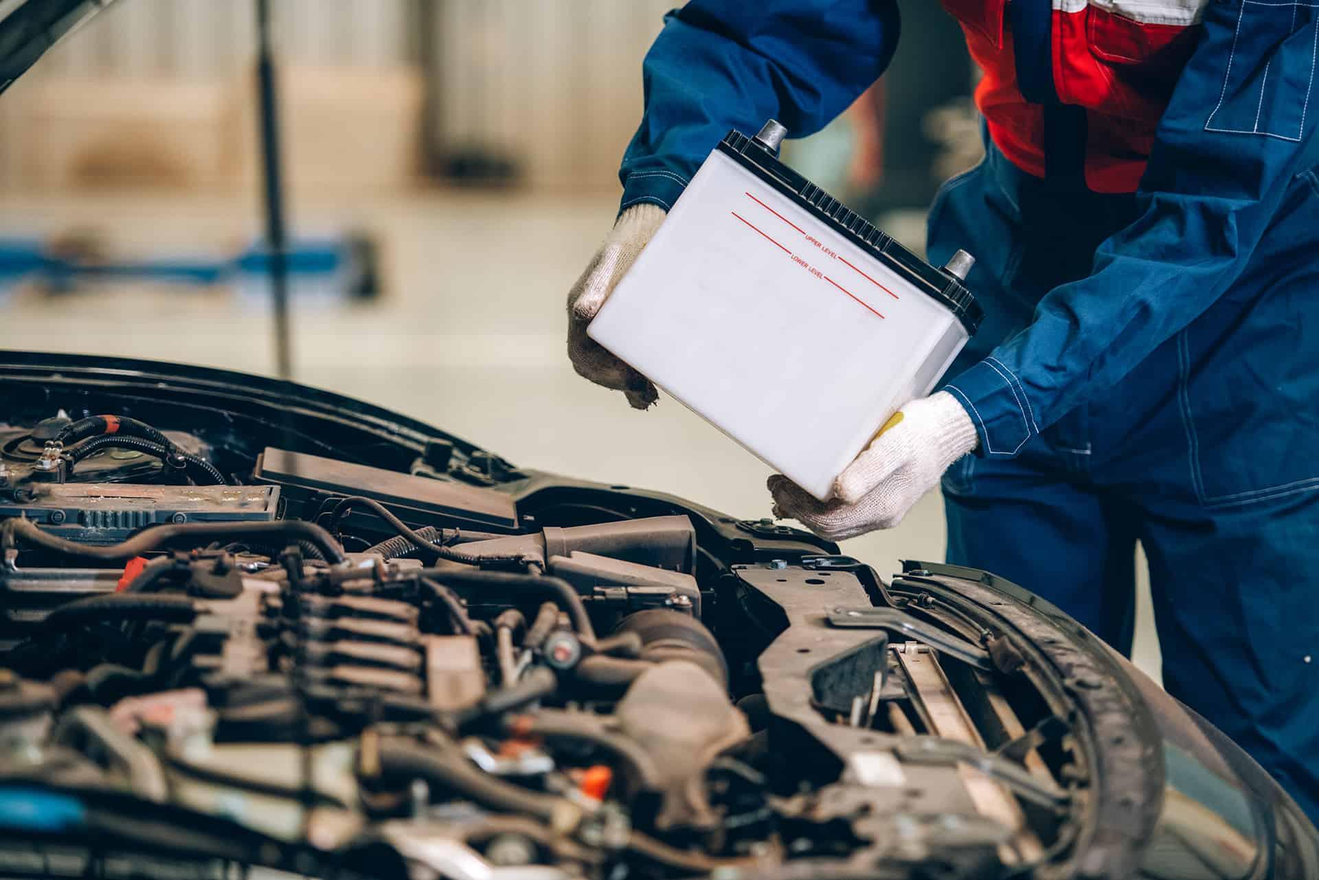 Battery Servicing at John Delany Motors