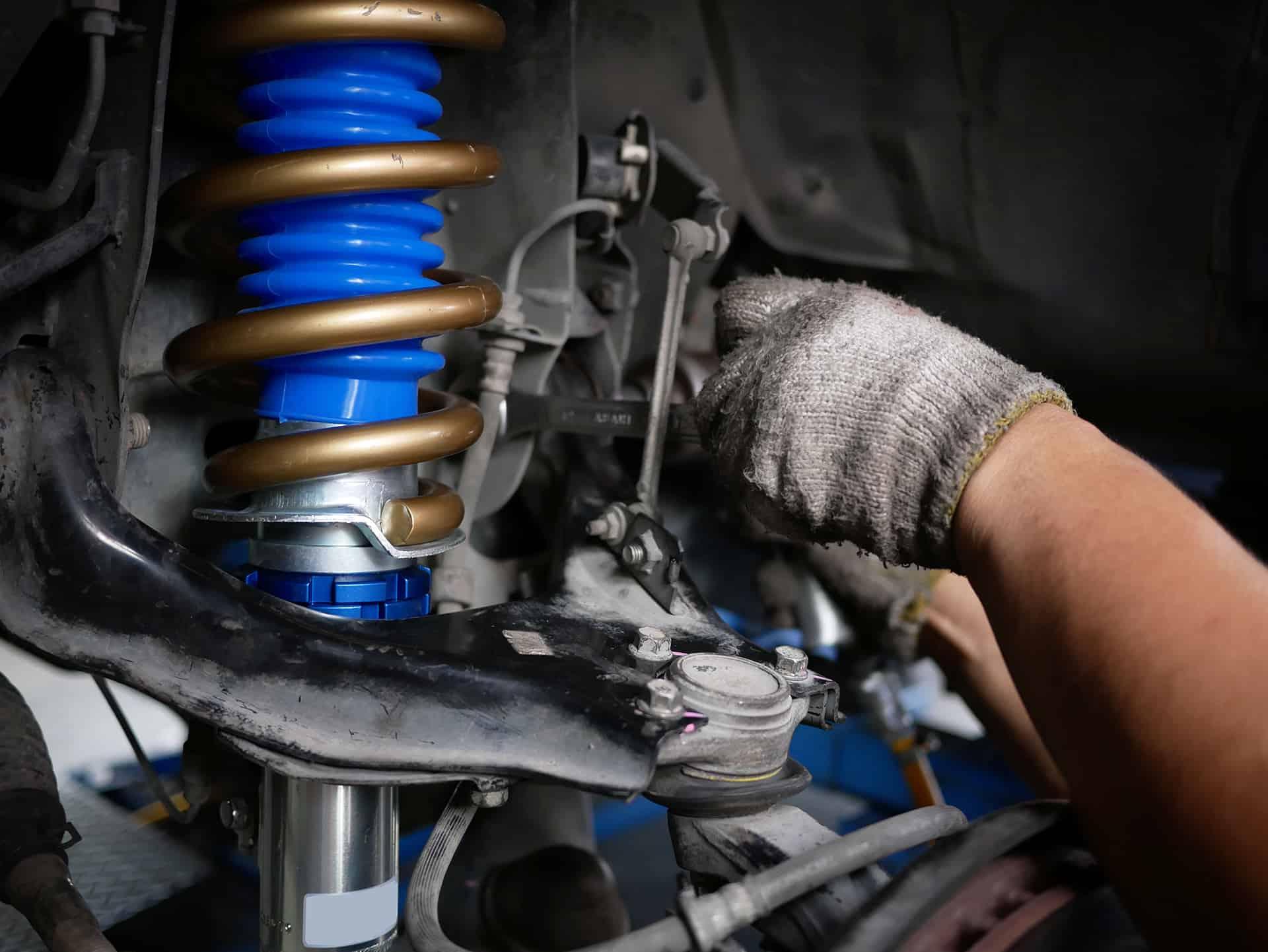 Suspension Repairs at John Delany Motors