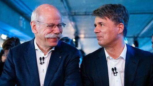 Harald Kruger & Dieter Zetsche