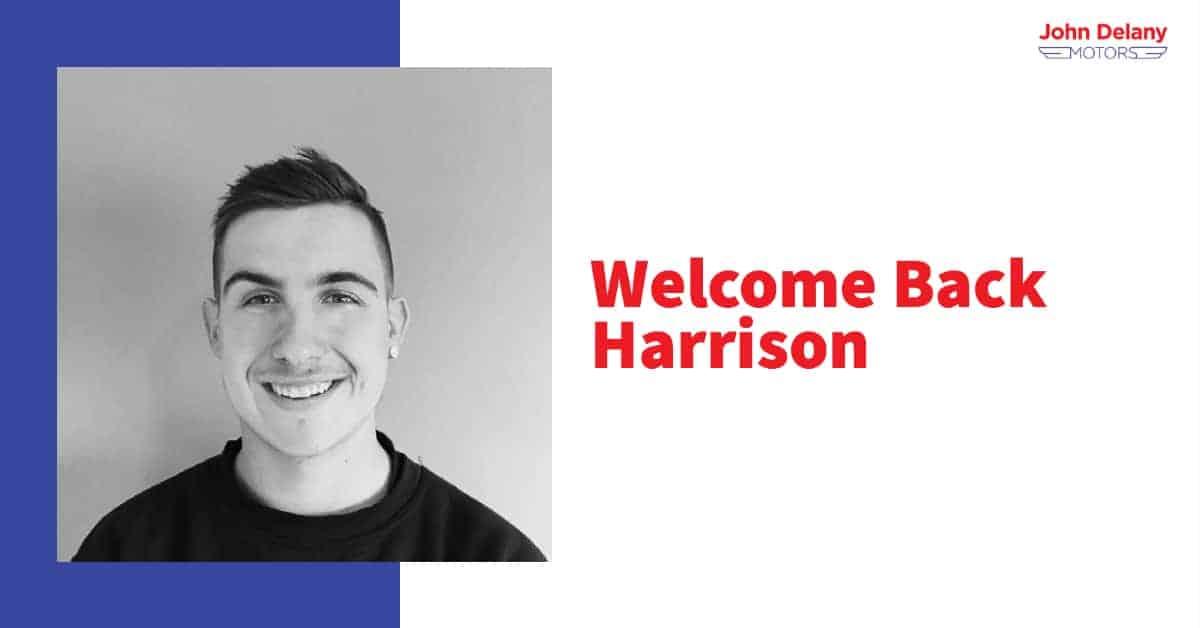 Harrison is back