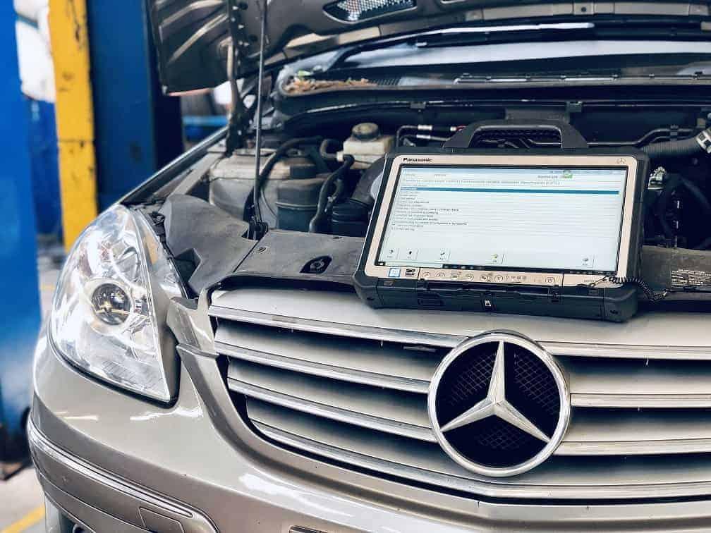 Mercedes-Benz Star Diagnostics Read