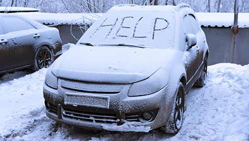 winter car problems